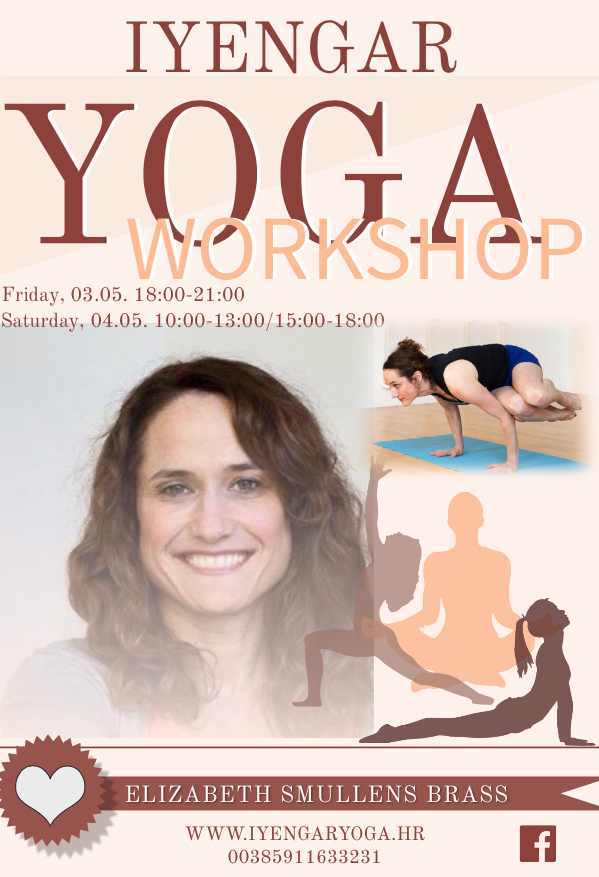 Iyengar yoga workshop with Elizabeth Smullens-Brass