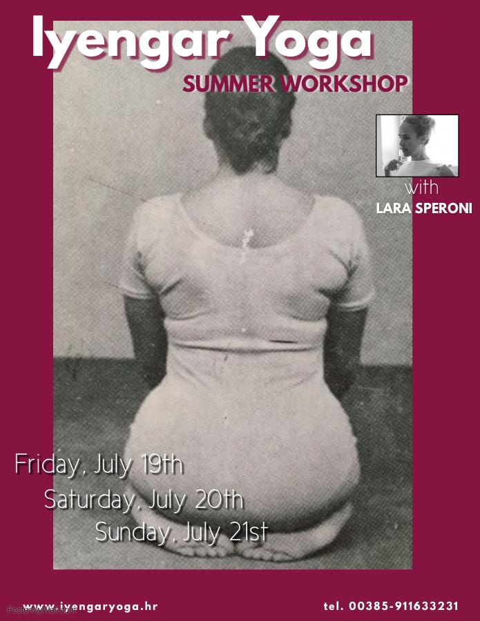 Summer Iyengar Yoga Workshop