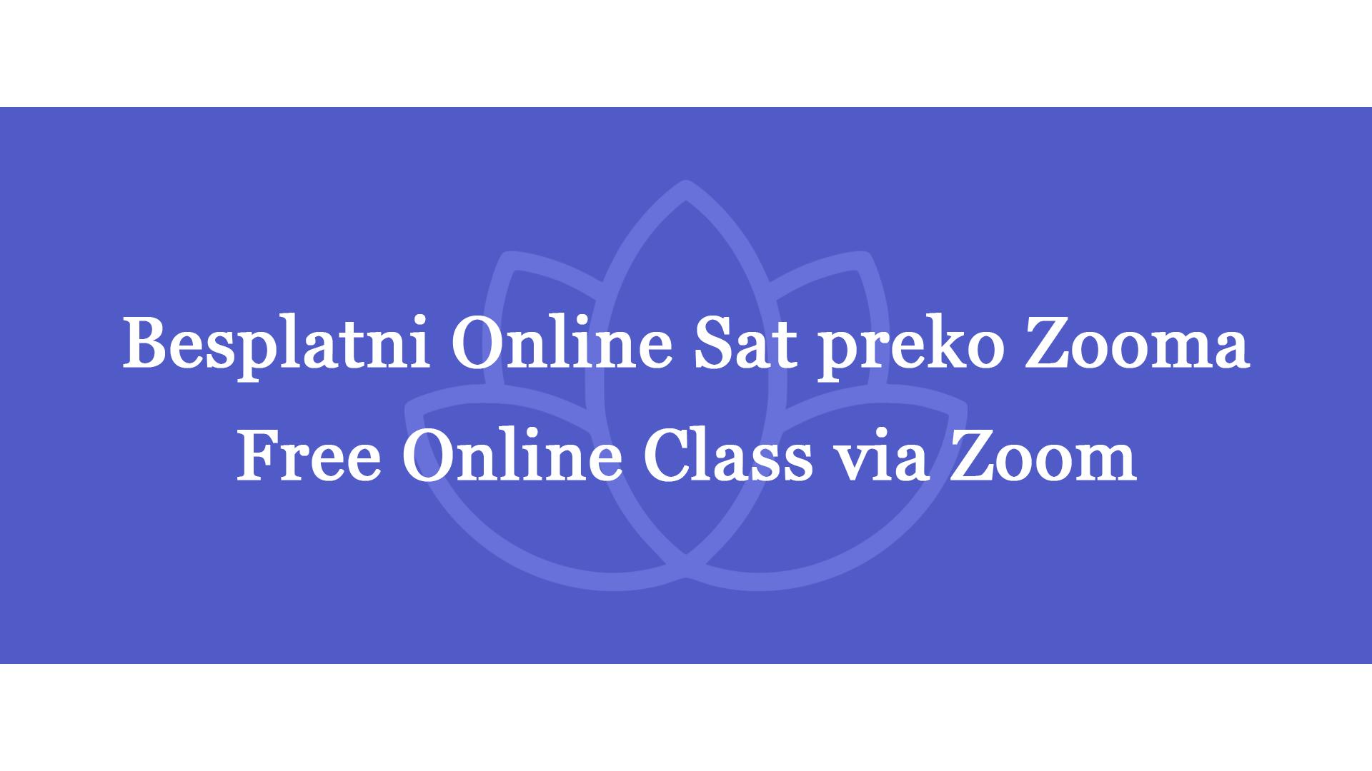 Free Online Class – Preventive back care