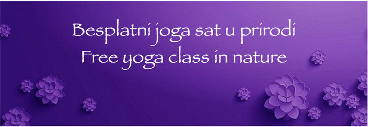 Free yoga class – in nature